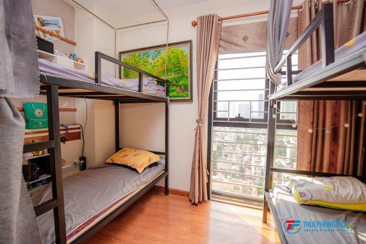 Cho thuê phòng trọ homestay giá 1tr5/th trọn gói ở chung cư cao cấp full nộị thất