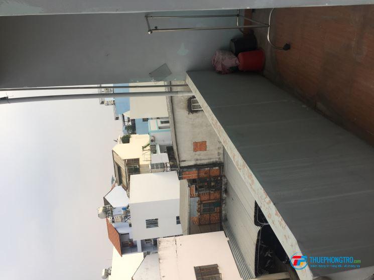 Phòng trọ quận 3 50m2 có hành lang thoáng mát