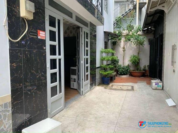 Cho thuê nhà nguyên căn đẹp, 8x4, Trệt Lầu, Lê Văn Thọ, P16, Q.Gò Vấp