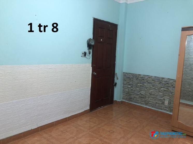 Còn 1 phòng cho (nam) thuê 15m2 giá 1tr8/th sạch, đẹp, không chung chủ. Quận 4, TP. HCM