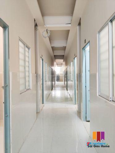 Phòng trọ Tân Phú 27m2 gác cao 1m8, mới xây, rẻ, giờ giấc tự do