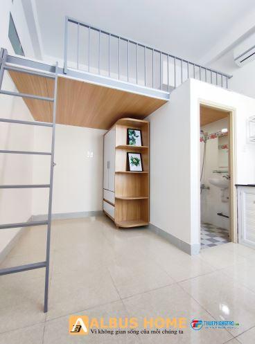 Phòng mới xây gần cầu tham lương có nội thất