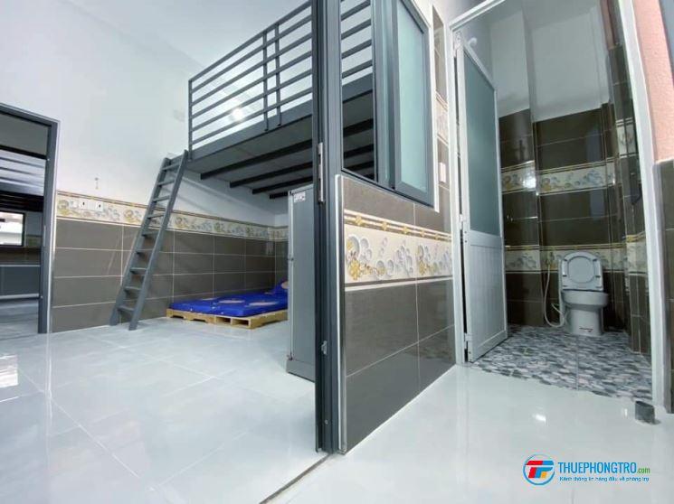 Phòng trọ Gò Vấp, 35m2 có gác, 2.7tr, nội thất sẵn, giảm 200k cho người thuê sớm