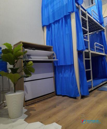 Cần nữ thuê ký túc xá giường tầng cao cấp trung tâm Q1 giá chỉ 650k bao điện nước