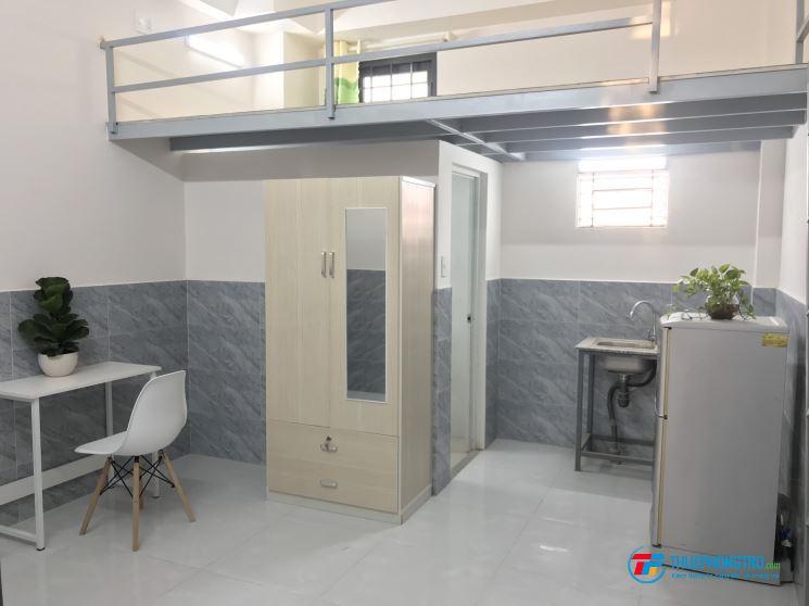 Phòng cho thuê có gác, đường Trần Bình Trọng, P5 , Q.Bình Thạnh