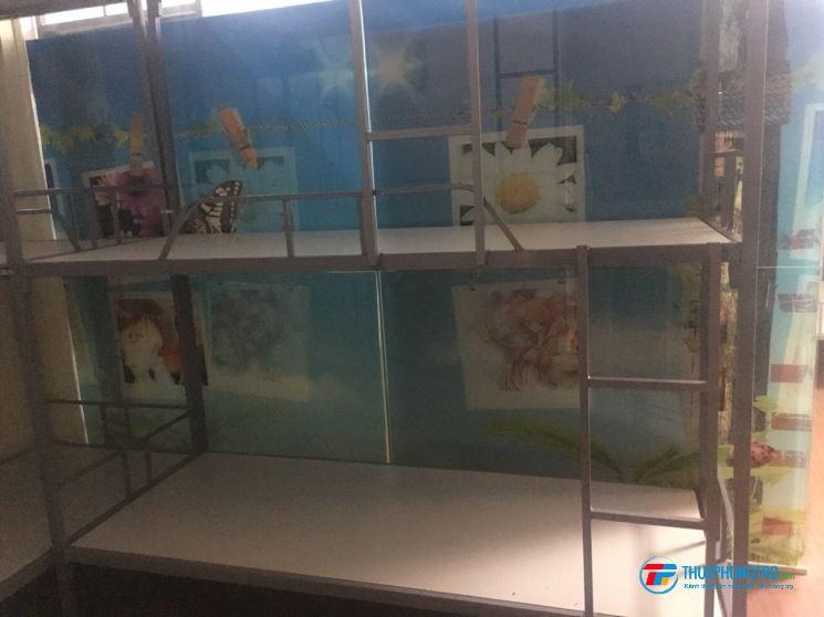 KTX Phạm Hùng máy lạnh, máy giặt, tắm nước nóng