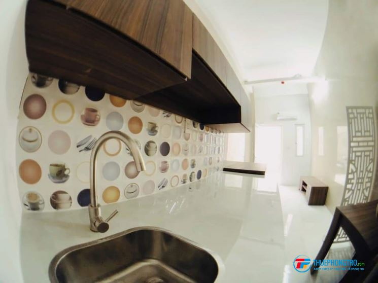 Cho thuê căn hộ mini full nội thất khu tên lửa, giảm ngay 1 tháng tiền nhà