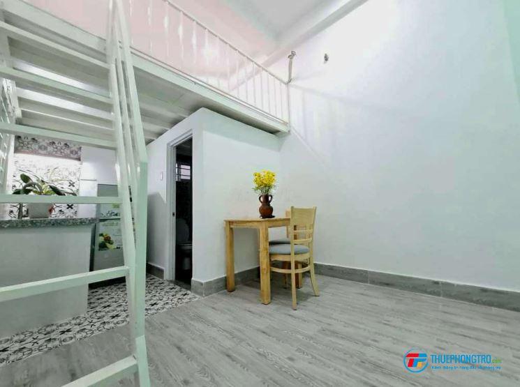 Phòng thuê Mini có Gác - Full Nội thất , Tân Thới Nhất 01. Q12
