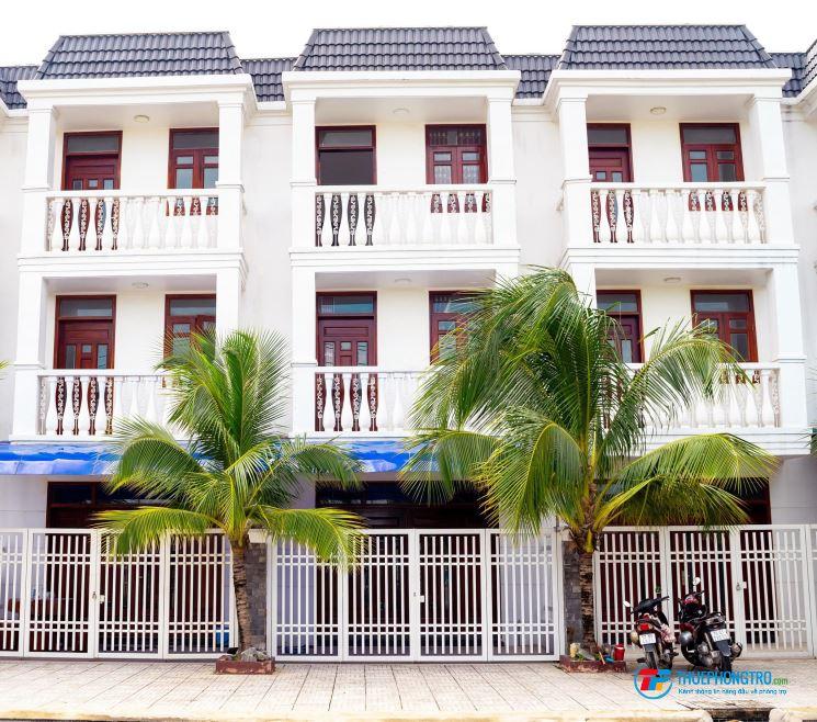 Cho thuê nhà trọ nhà 1 trệt 2 lầu-đường 12m- 4 Phòng Ngủ kế bên Làng Đại Học- gần Big C TP Dĩ An