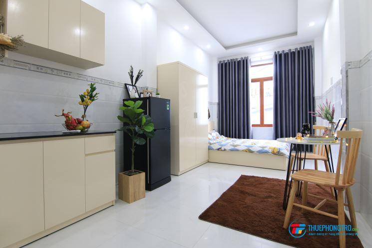 🍀🍀🍀Cho thuê phòng STUDIO 1 PN + Bếp FULL nội thất cao cấp Trung tâm Quận 3