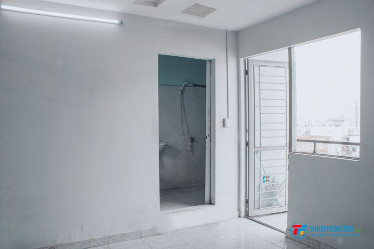 Phòng Trọ Gò Vấp Có Ban Công Cửa Sổ WC Riêng đối diện Lotte Mart Nguyễn Văn Lượng
