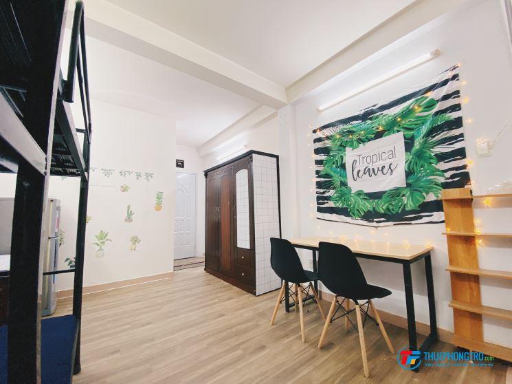 Cho thuê CHDV Penthouse full nội thất Lê Văn Sỹ Q3 ở dc nhóm 4-6 người