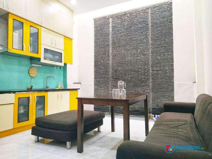 Phòng đầy đủ nội thất cao cấp ở chợ Bà Chiểu, Bình Thạnh
