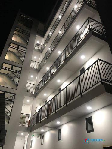 Trọ mới xây, thoáng mát, có ban công, thang máy,camera an ninh