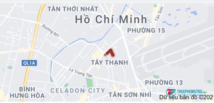 Phòng trọ bình dân Khu công nghiệp Tân Bình, Quận Tân Phú