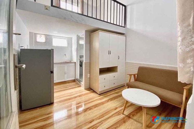 Phòng đầy đủ nội thất có gác Tân Bình giáp quận 10
