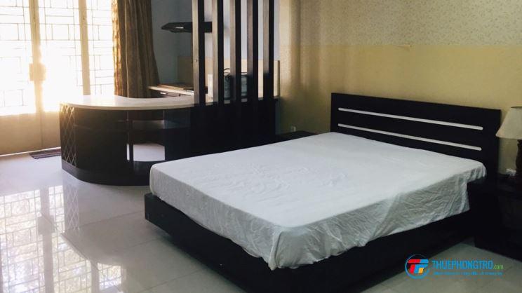 Cho thuê phòng trọ cao cấp đầy đủ nội thất ở mặt tiền Nguyễn Kim