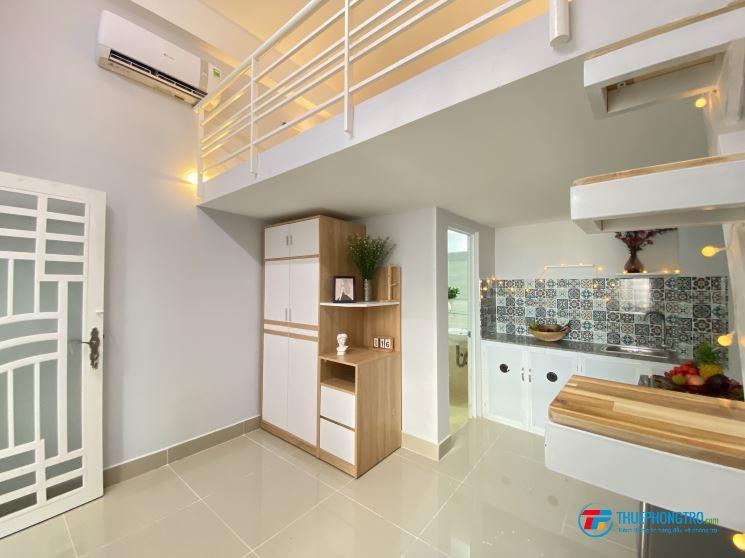 Studio - Duplex TT Bình Thạnh, Full Nội thất - Thang máy - Bảo vệ An ninh