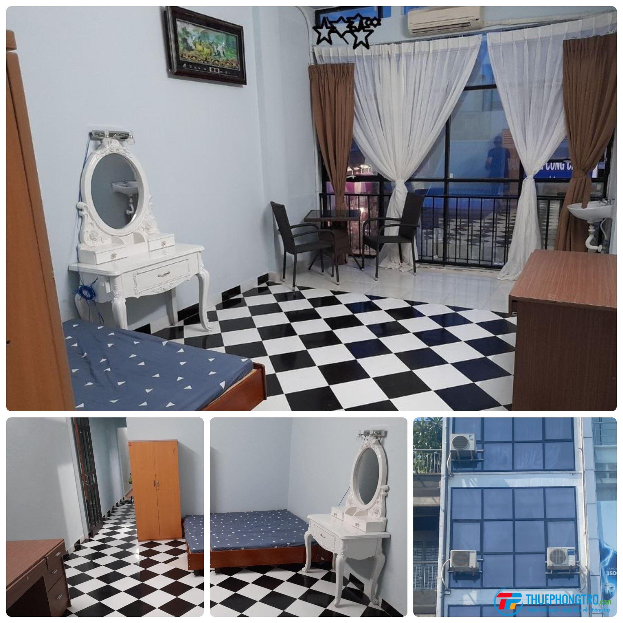 Còn 1 Phòng Trống Full Cửa Sổ View Mặt Tiền Phú Nhuận