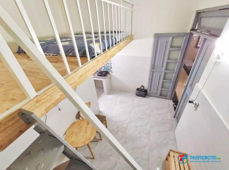 cho thuê phòng sẵn nội thất tại Tân Bình,gác cao 1m75,mới