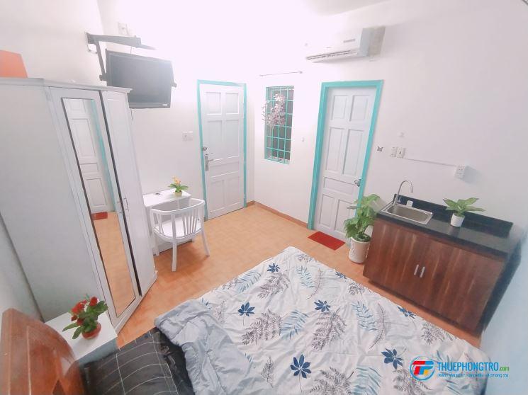 Phòng tân bình 3tr7 cho thuê ngắn hạn - dài hạn - full tiện nghi có bếp gần etown