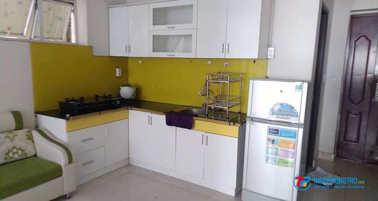 Cho thuê căn hộ chung cư Nhất Lan 3 hướng Đông Bắc (5tr) đầy đủ nội thất